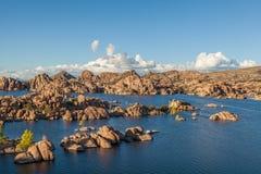Piękny Watson Jeziorny prescott Arizona Obraz Stock