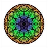 Piękny wektorowy mandala kwiat Zdjęcie Royalty Free