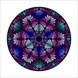 Piękny wektorowy mandala kwiat Obrazy Stock