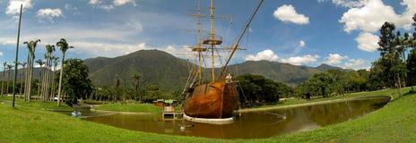 Piękny widok Avila Halny Caracas Wenezuela Warairarepano Obraz Royalty Free