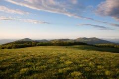 piękny widok górski Zdjęcia Royalty Free