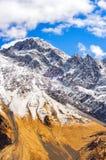 Piękny widok Kaukaz góry, Gruzja Fotografia Royalty Free