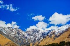 Piękny widok Kaukaz góry, Gruzja Obraz Stock
