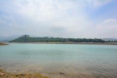 Piękny widok Khanpur jezioro, Pakistan Fotografia Royalty Free
