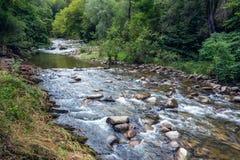 Piękny widok Kostina rzeka Obrazy Royalty Free