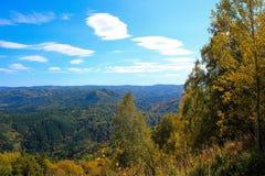 Piękny widok krajobraz Fotografia Royalty Free