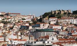 Piękny widok Lisbon Zdjęcia Royalty Free