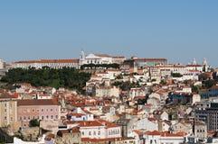 Piękny widok Lisbon Zdjęcia Stock