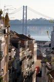 Piękny widok Lisbon Zdjęcie Stock