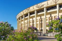 Piękny widok Luzhniki stadium w Moskwa Zdjęcie Stock