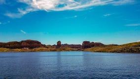 Piękny widok Napoleon ` s grobowiec, Jeziorny dwójniak, Nevada Obrazy Stock