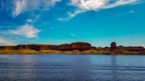 Piękny widok Napoleon ` s grobowiec, Jeziorny dwójniak, Nevada Zdjęcia Royalty Free