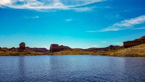 Piękny widok Napoleon ` s grobowiec, Jeziorny dwójniak, Nevada Zdjęcie Royalty Free