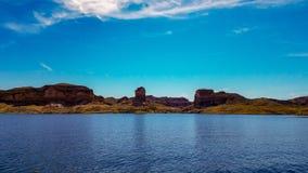 Piękny widok Napoleon ` s grobowiec, Jeziorny dwójniak, Nevada Obraz Royalty Free