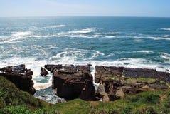 Piękny widok ocean Zdjęcie Stock