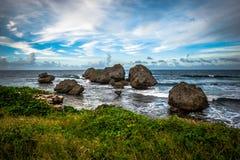 Piękny widok od Barbados Zdjęcia Royalty Free
