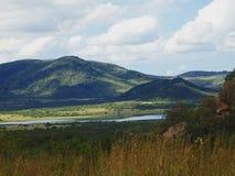 Piękny widok Pilanesberg park narodowy Obraz Royalty Free
