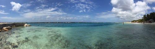 Piękny widok przy Curaçao Zdjęcie Stock