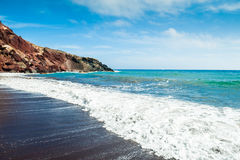 Piękny widok seacoast Obraz Stock
