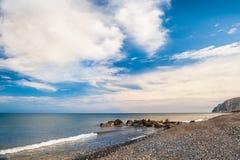 Piękny widok seacoast Obrazy Stock