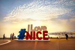 Piękny widok seashore i popularny miejsce dla fotografia turystów Zdjęcie Stock