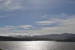 Piękny widok Snowdonia park narodowy fotografia royalty free
