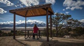 Piękny widok Uczelniany szczyt Zdjęcie Royalty Free