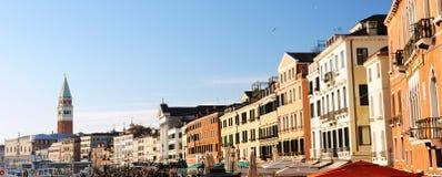 Piękny widok Wenecja Obrazy Royalty Free