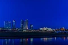 Piękny wieczór w Vilnius Zdjęcie Stock