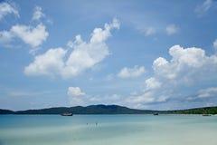 Piękny wyspy miejsce przeznaczenia fotografia royalty free