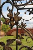 Piękny wzór metal Zdjęcie Stock