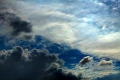 piękny zachmurzone niebo Obraz Stock