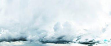 piękny zachmurzone niebo Zdjęcia Royalty Free
