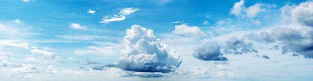 piękny zachmurzone niebo Zdjęcia Stock