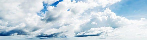 piękny zachmurzone niebo Obraz Royalty Free