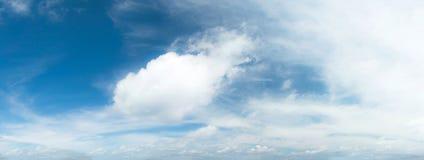 piękny zachmurzone niebo Fotografia Royalty Free