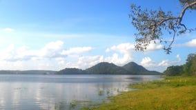 Piękny zbiornik przy Polonnaruwa, Srilanka Zdjęcia Stock