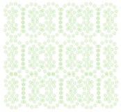 piękny zielony ornament Obrazy Royalty Free