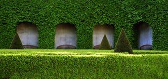 piękny zielony park fotografia royalty free