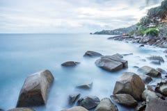 piękny zmierzch w Phuket Thailand Obraz Stock