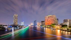 Piękny zmierzchu widok, Tajlandia Obraz Stock