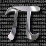 Pi mathematics symbol Royalty Free Stock Image