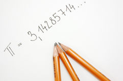 Pi number 2 Stock Images