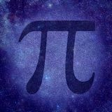 Pi number stock photography