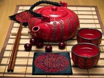 pić sake zestaw Zdjęcie Royalty Free