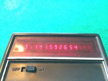 Pi su un vecchio calcolatore immagini stock libere da diritti