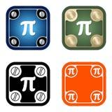 Pi symbol Stock Photo
