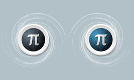 Pi symbol Royalty Free Stock Images