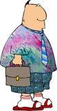 Piątek dressdown royalty ilustracja
