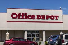 Pi Wayne - vers en août 2017 : Emplacement de devis d'Office Depot Office Depot a des ventes annuelles des ventes annuelles de $1 Photo libre de droits